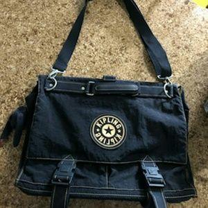 Kipling Black  Nylon Laptop Bag